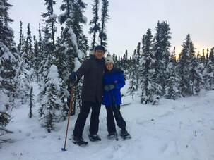 Snowshoe tours and nature guiding in Fairbanks, Alaska